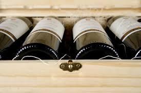 vin dans caisse