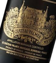 chateau Palmer bouteille