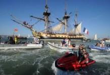bateau bordeaux lancement